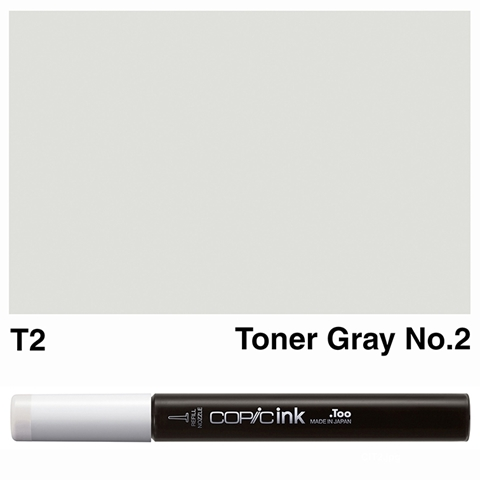 Picture of Copic Ink T2 - Toner Gray No.2 12ml