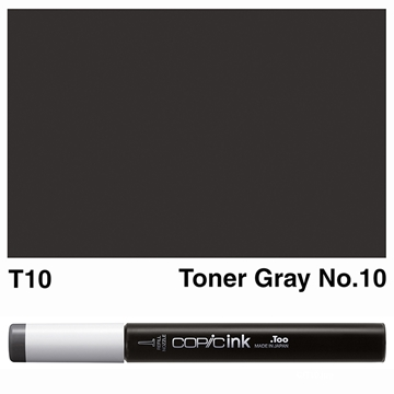 Picture of Copic Ink T10 - Toner Gray No.10 12ml
