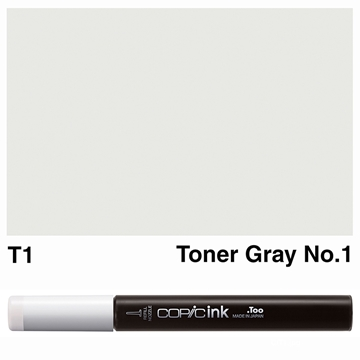 Picture of Copic Ink T1 - Toner Gray No.1 12ml