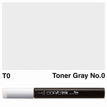 Picture of Copic Ink T0 - Toner Gray No.0 12ml