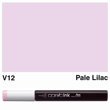 Picture of Copic Ink V12 - Pale Lilac 12ml