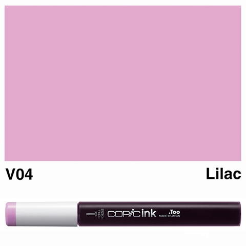 Picture of Copic Ink V04 - Lilac 12ml