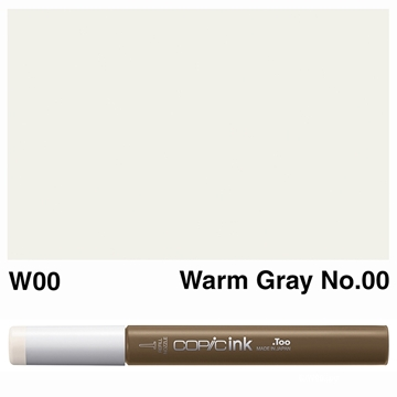 Picture of Copic Ink W00 - Warm Gray No.00 12ml