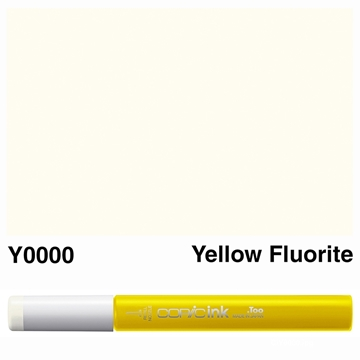 Picture of Copic Ink Y0000 - Yellow Fluorite 12ml