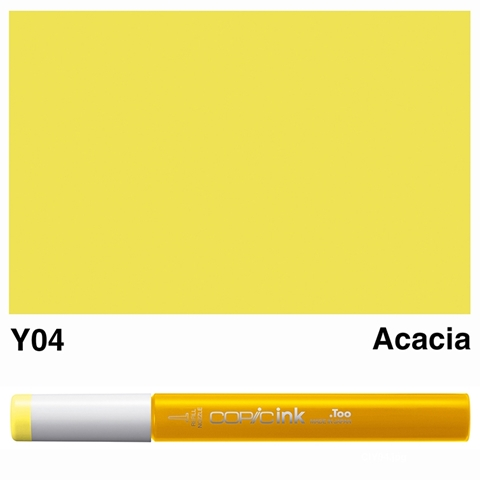 Picture of Copic Ink Y04 - Acacia 12ml