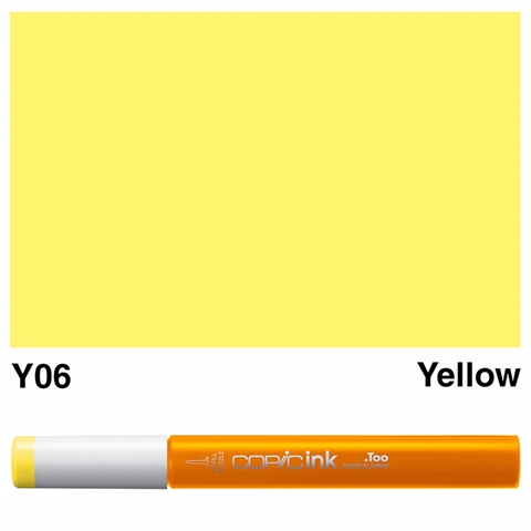 Picture of Copic Ink Y06 - Yellow 12ml