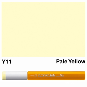 Picture of Copic Ink Y11 - Pale Yellow 12ml