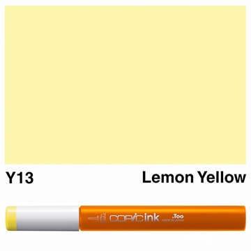 Picture of Copic Ink Y13 - Lemon Yellow 12ml