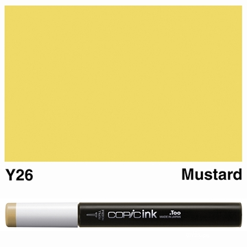 Picture of Copic Ink Y26 - Mustard 12ml