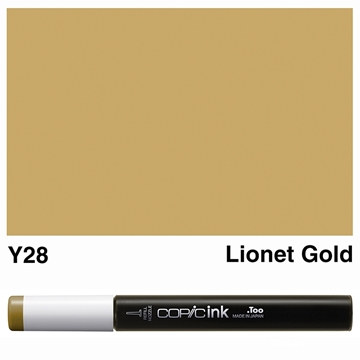 Picture of Copic Ink Y28 - Lionet Gold 12ml
