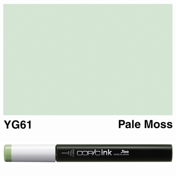 Picture of Copic Ink YG61 - Pale Moss 12ml