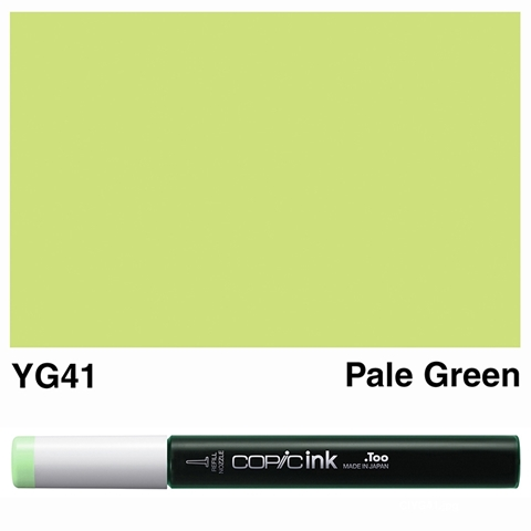Picture of Copic Ink YG41 - Pale Green 12ml