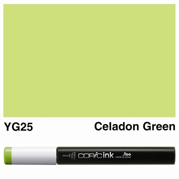 Picture of Copic Ink YG25 - Celadon Green 12ml