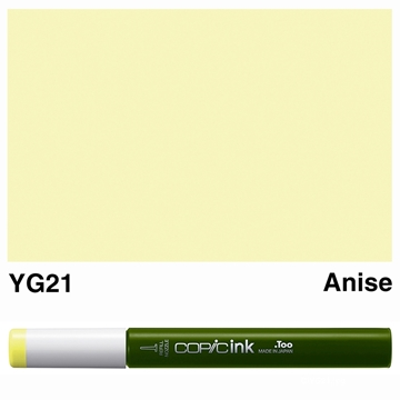Picture of Copic Ink YG21 - Anise 12ml