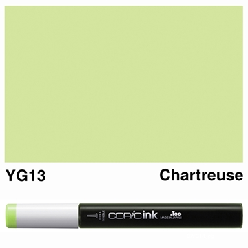 Picture of Copic Ink YG13 - Chartreuse 12ml