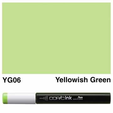 Picture of Copic Ink YG06 - Yellowish Green 12ml