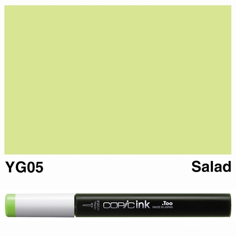 Picture of Copic Ink YG05 - Salad 12ml
