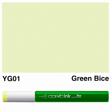 Picture of Copic Ink YG01 - Green Bice 12ml