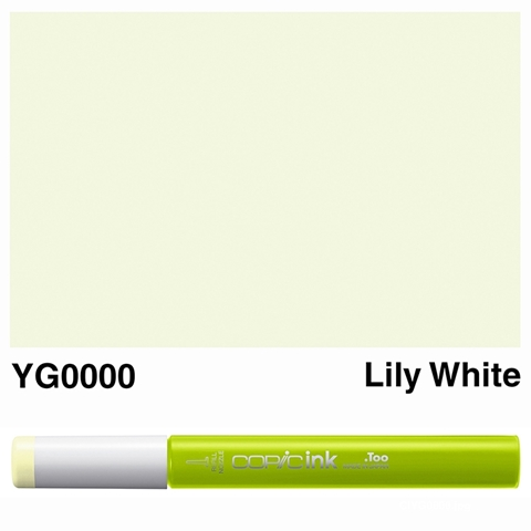 Picture of Copic Ink YG0000 - Lily White 12ml