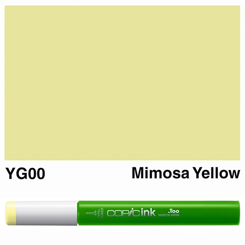Picture of Copic Ink YG00 - Mimosa Yellow 12ml