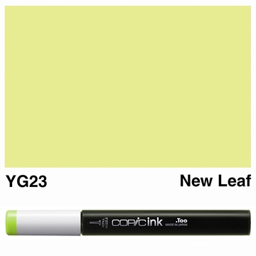 Picture of Copic Ink YG23 - New Leaf 12ml