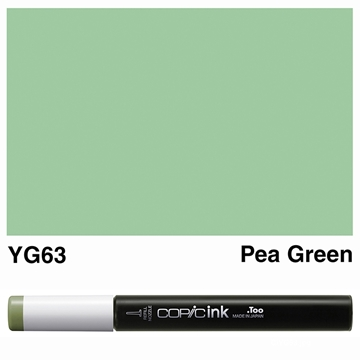 Picture of Copic Ink YG63 - Pea Green 12ml