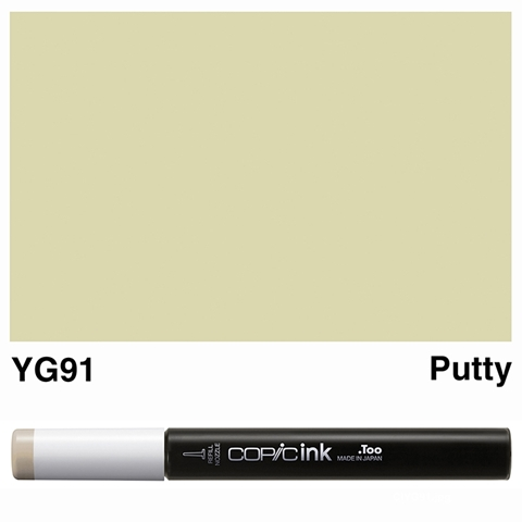 Picture of Copic Ink YG91 - Putty 12ml