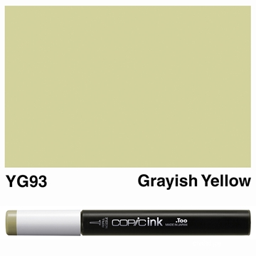 Picture of Copic Ink YG93 - Grayish Yellow 12ml
