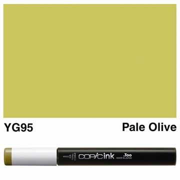 Picture of Copic Ink YG95 - Pale Olive 12ml