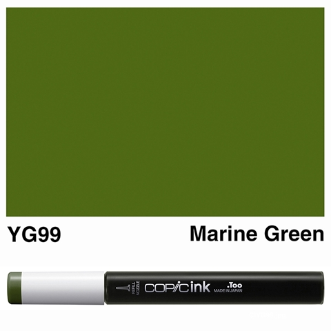 Picture of Copic Ink YG99 - Marine Green 12ml