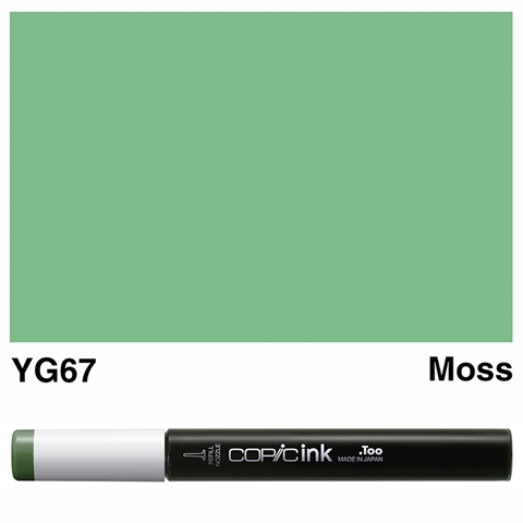 Picture of Copic Ink YG67 - Moss 12ml