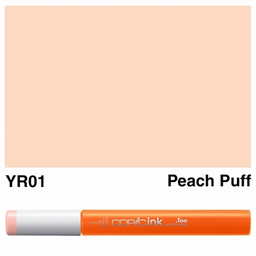 Picture of Copic Ink YR01 - Peach Puff 12ml