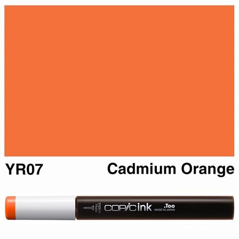 Picture of Copic Ink YR07 - Cadmium Orange 12ml