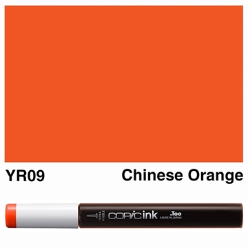 Picture of Copic Ink YR09 - Chinese Orange 12ml