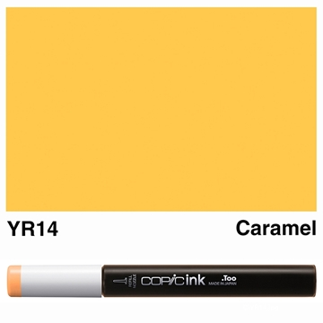 Picture of Copic Ink YR14 - Caramel 12ml