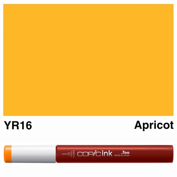 Picture of Copic Ink YR16 - Apricot 12ml