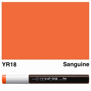 Picture of Copic Ink YR18 - Sanguine 12ml