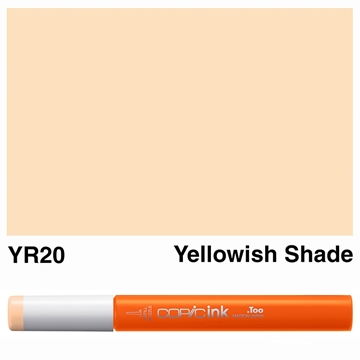 Picture of Copic Ink YR20 - Yellowish Shade 12ml