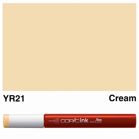 Picture of Copic Ink YR21 - Cream 12ml