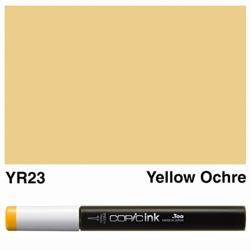 Picture of Copic Ink YR23 - Yellow Ochre 12ml