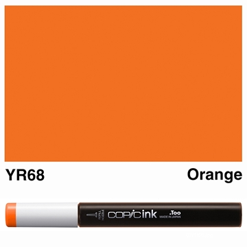 Picture of Copic Ink YR68 - Orange 12ml