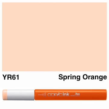 Picture of Copic Ink YR61 - Spring Orange 12ml