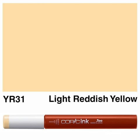 Picture of Copic Ink YR31 - Light Reddish Yellow 12ml
