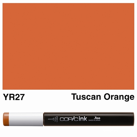 Picture of Copic Ink YR27 - Tuscan Orange 12ml
