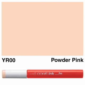 Picture of Copic Ink YR00 - Powder Pink 12ml
